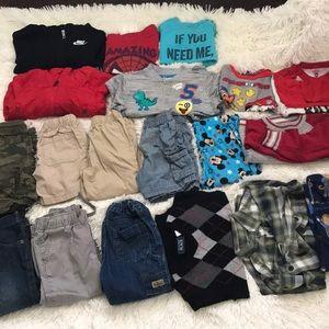 Bundle of 2t clothes good deal